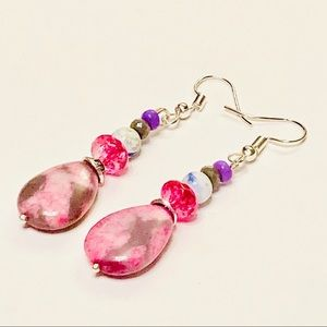 CANDY CRUNCH Agate Earrings